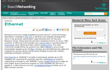 http://searchnetworking.techtarget.com/definition/Ethernet