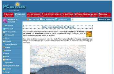 http://www.pcastuces.com/pratique/multimedia/mosaique_photos/page1.htm