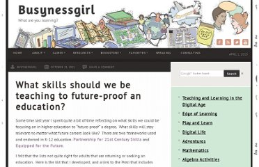 http://busynessgirl.com/what-skills-should-we-be-teaching-to-future-proof-an-education/