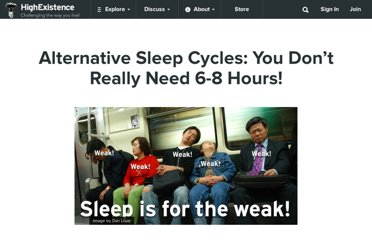 http://www.highexistence.com/alternate-sleep-cycles/