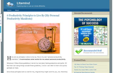 http://litemind.com/productivity-principles/
