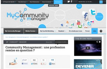 http://www.mycommunitymanager.fr/community-management-une-profession-remise-en-question/