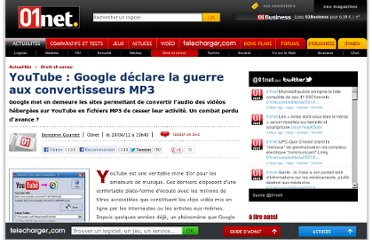 http://www.01net.com/editorial/568643/youtube-google-declare-la-guerre-aux-convertisseurs-mp3/