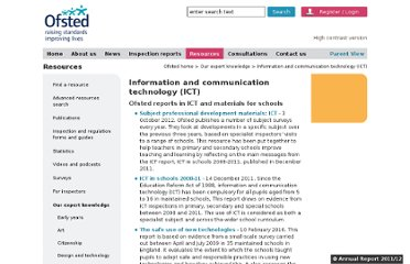 http://www.ofsted.gov.uk/resources/our-expert-knowledge/information-and-communication-technology-ict