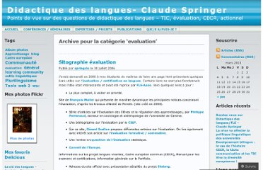 http://springclo.wordpress.com/category/evaluation/