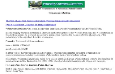 http://coursesite.uhcl.edu/HSH/Whitec/LITR/4232/research/termsthemes/transcend.htm