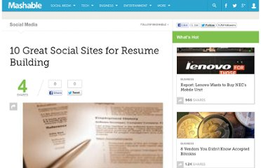 http://mashable.com/2009/03/18/resume-building/