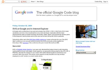 http://googlecode.blogspot.com/2009/10/svg-at-google-and-in-internet-explorer.html