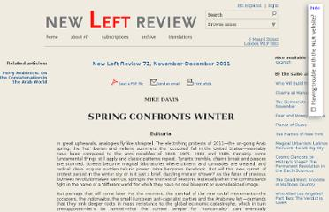 http://newleftreview.org/II/72/mike-davis-spring-confronts-winter