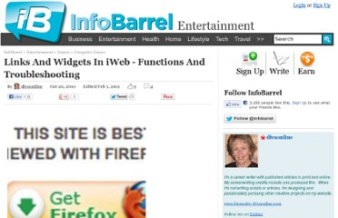 http://www.infobarrel.com/Links_And_Widgets_In_iWeb_-_Functions_And_Troubleshooting