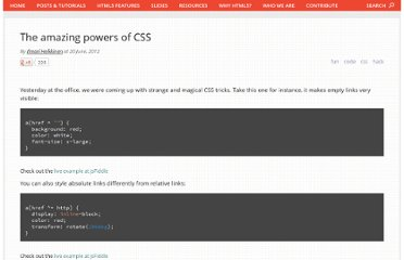 http://updates.html5rocks.com/2012/06/The-amazing-powers-of-CSS