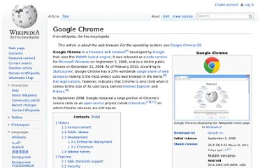 http://en.wikipedia.org/wiki/Google_Chrome