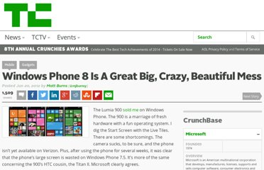 http://m.techcrunch.com/nock/2012/06/20/windows-8-is-a-great-big-crazy-beautiful-mess/