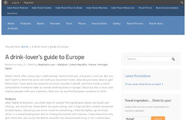 http://indietravelpodcast.com/czech-republic/drinklovers-guide-europe/