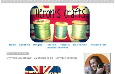 http://heronscrafts.blogspot.com/2012/05/olympic-countdown-11-weeks-to-go.html