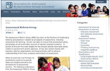 http://www.aaia.org.uk/afl/assessment-reform-group/