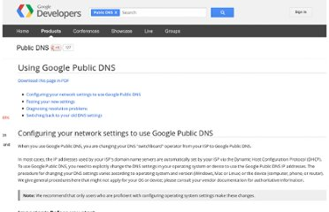 https://developers.google.com/speed/public-dns/docs/using#testing