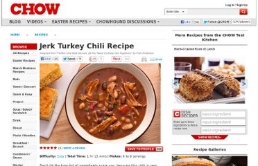 http://www.chow.com/recipes/30365-jerk-turkey-chili
