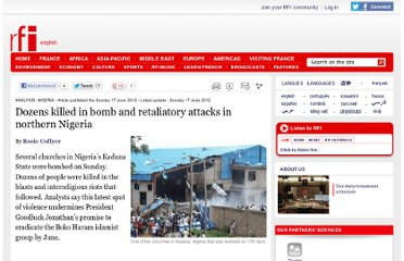 http://www.english.rfi.fr/africa/20120617-dozens-killed-bomb-and-retaliatory-attacks-northern-nigeria
