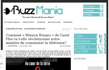 http://buzz-mania.net/2011/11/comment-mission-braquo-de-canal-plus-va.html