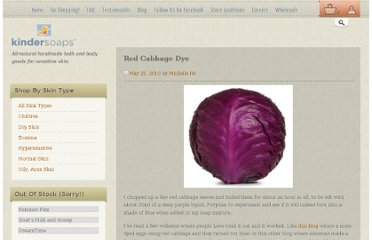 http://www.kindersoaps.com/uncategorized/red-cabbage-dye/