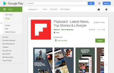 https://play.google.com/store/apps/details?id=flipboard.app