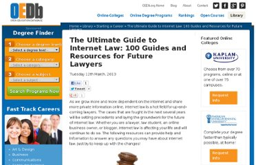 http://oedb.org/library/starting-a-career/the_ultimate_guide_to_internet_law/