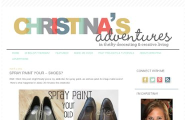 http://christinasadventures.com/2012/03/spray-paint-your-shoes.html