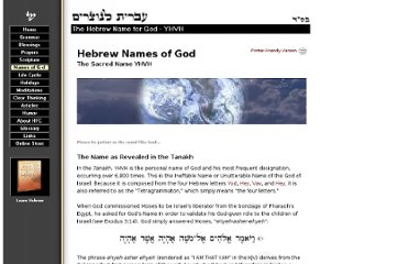 http://www.hebrew4christians.com/Names_of_G-d/YHVH/yhvh.html