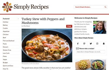 http://www.simplyrecipes.com/recipes/turkey_stew_with_peppers_and_mushrooms/