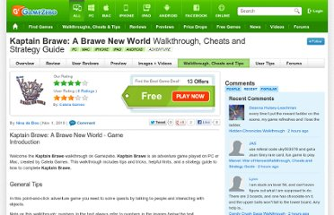 http://www.gamezebo.com/games/kaptain-brawe-brawe-new-world/walkthrough-cheats-strategy-guide
