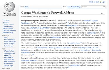 https://en.wikipedia.org/wiki/George_Washington%27s_Farewell_Address
