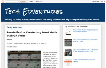 http://techedventures.blogspot.com/2012/06/revolutionize-vocabulary-word-walls.html