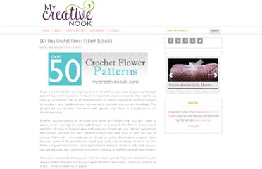 http://mycreativenook.com/crochet-flower-patterns/