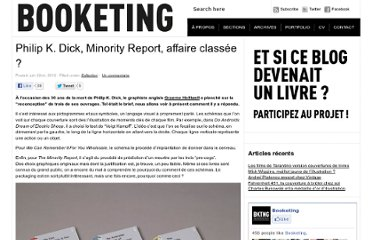 http://blogs.lesinrocks.com/booketing/philip-k-dick-minority-report-affaire-classee/