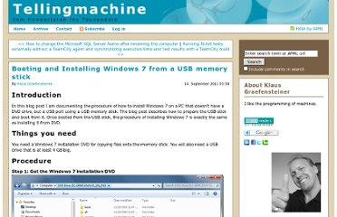 http://www.tellingmachine.com/post/Booting-and-Installing-Windows-7-from-a-USB-memory-stick.aspx