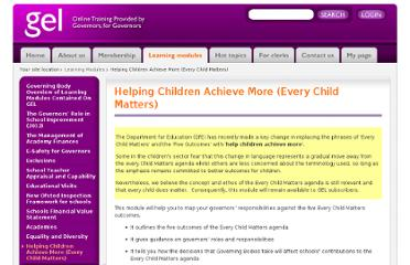 http://www.elc-gel.org/learning-modules/every-child-matters/
