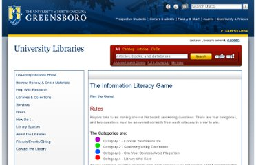 http://library.uncg.edu/game/