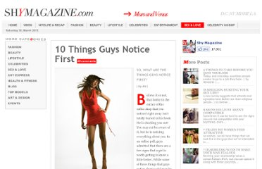 http://shymagazine.com/shy/10-things-guys-notice-first.html