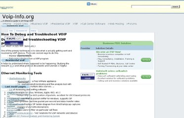 http://www.voip-info.org/wiki/view/How+To+Debug+and+Troubleshoot+VOIP