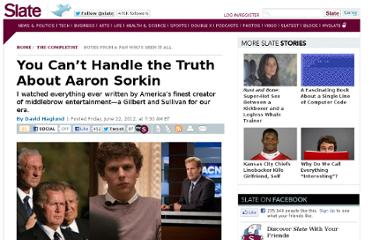 http://www.slate.com/articles/arts/the_completist/2012/06/the_complete_works_of_aaron_sorkin_from_the_west_wing_to_the_social_network_to_the_newsroom_.html