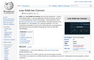 http://fr.wikipedia.org/wiki/Low_Orbit_Ion_Cannon