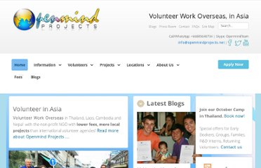 http://www.openmindprojects.org/fees/affordable-volunteer-abroad-fees