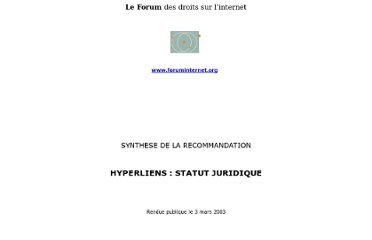 http://www.foruminternet.org/telechargement/documents/synthreco-hyli-20030303.htm