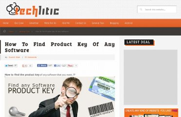http://www.techlitic.com/how-to-find-product-key-of-any-software.html