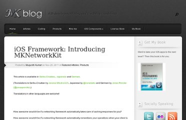 http://blog.mugunthkumar.com/products/ios-framework-introducing-mknetworkkit/