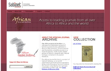 http://www.sabinet.co.za/?page=african-journal-archive