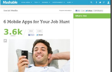 http://mashable.com/2012/06/23/job-hunt-mobile-apps/