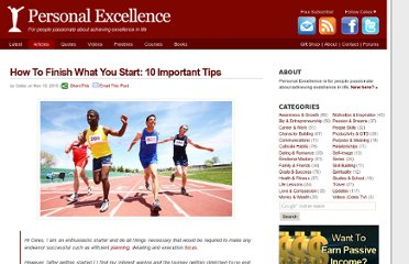 http://personalexcellence.co/blog/how-to-finish-what-you-start/