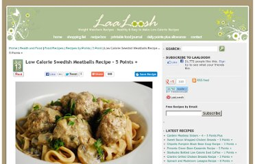 http://www.laaloosh.com/2012/06/13/low-calorie-swedish-meatballs-recipe/#more-7099